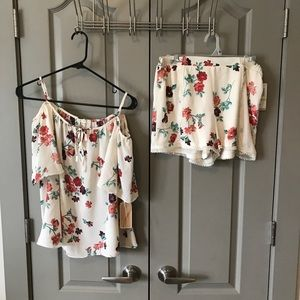 Shorts and blouse set bought from Dillard's